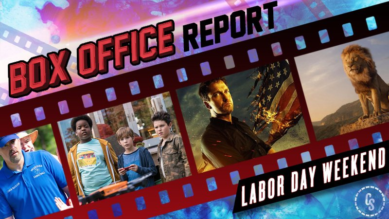 Angel Has Fallen Leads Sleepy Labor Day Weekend Box Office