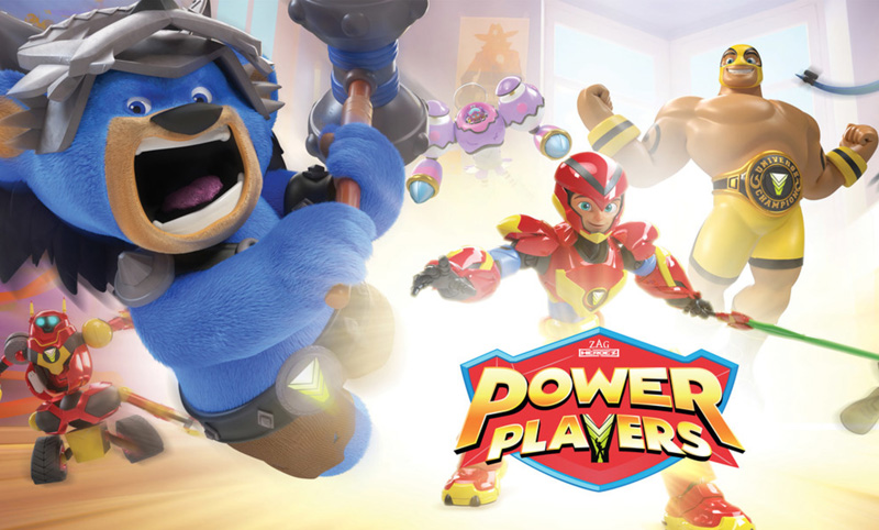Exclusive Power Players Toys Revealed For Cartoon Network Show!