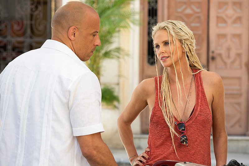 Charlize Theron's Cipher ditches dreadlocks for 'Fast & Furious 9'