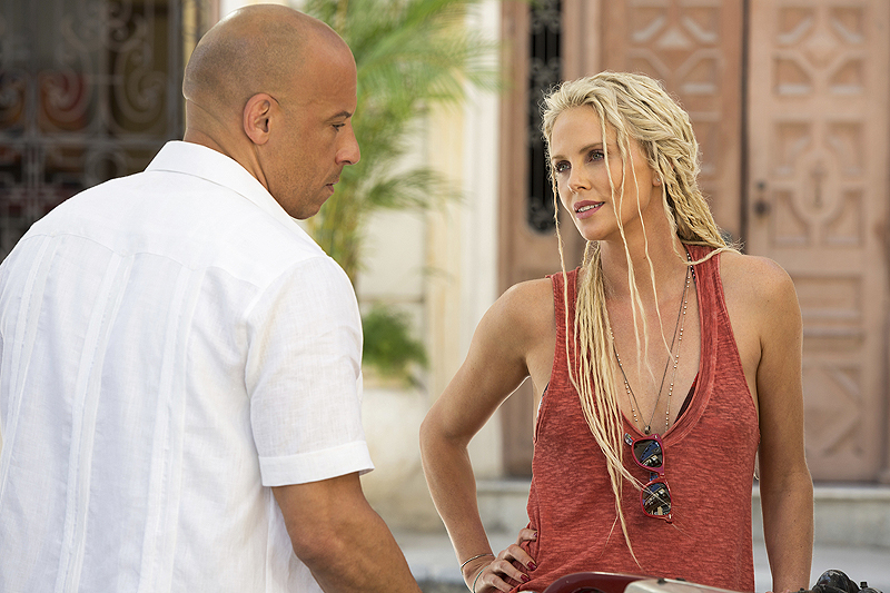 Charlize Theron ditches the dreads for Cipher's return in Fast & Furious 9