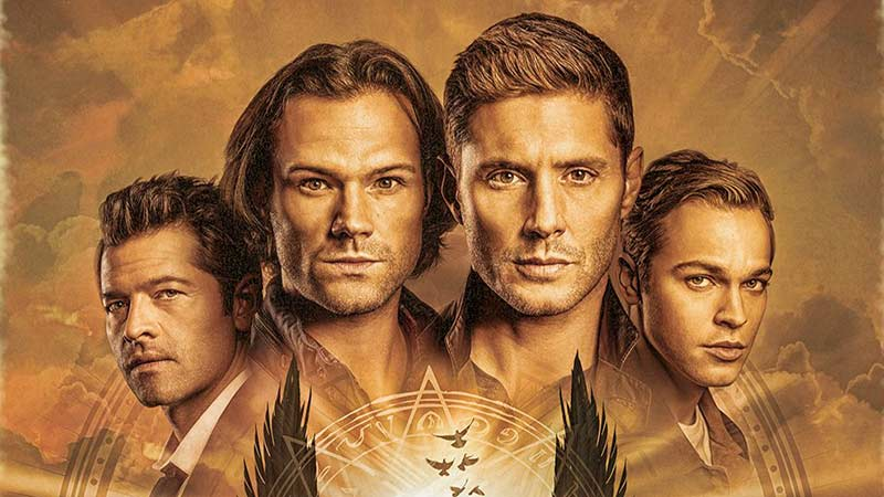 Supernatural Season 15 Poster: As It Is Written, so Shall It End