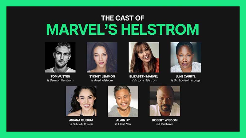 Hulu's Marvel's Helstrom Live-Action Series Has Found Its Ensemble Cast