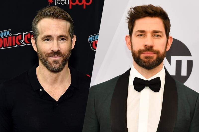 Ryan Reynolds and John Krasinski to Star in Imaginary Friends