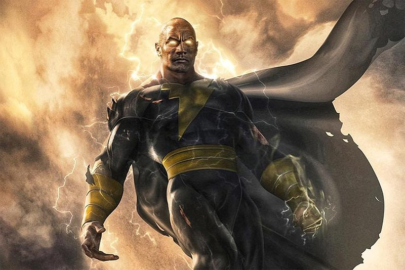 Black Adam Poster & Release Date for Dwayne Johnson Anti-Hero