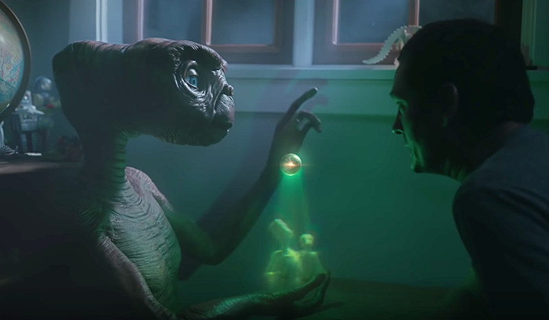 E.T. and Elliott Reunite for Xfinity Ad, Watch Now!