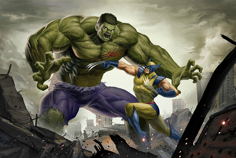 Mark Ruffalo Dreams to Make Hulk vs. Wolverine Movie