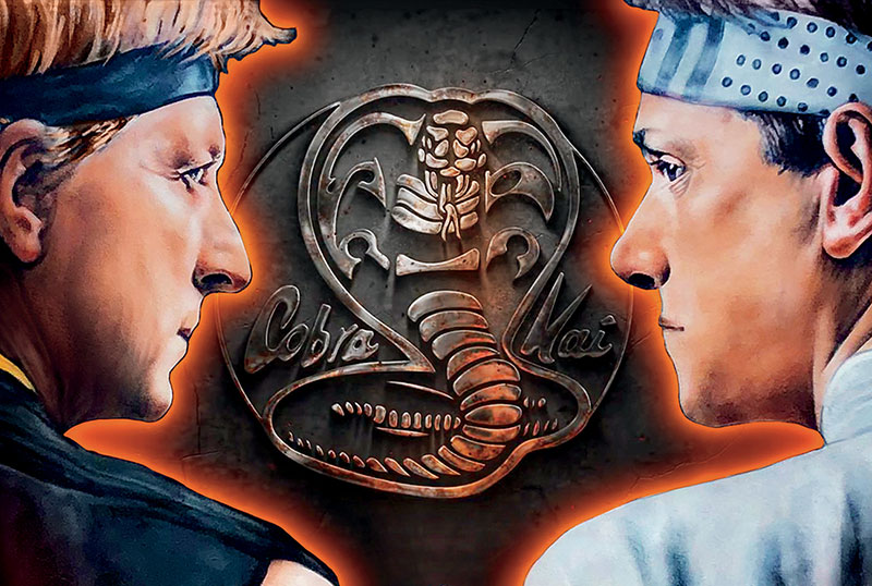 Exclusive Cobra Kai Clip Takes You Behind-the-Scenes of the Mall Fight