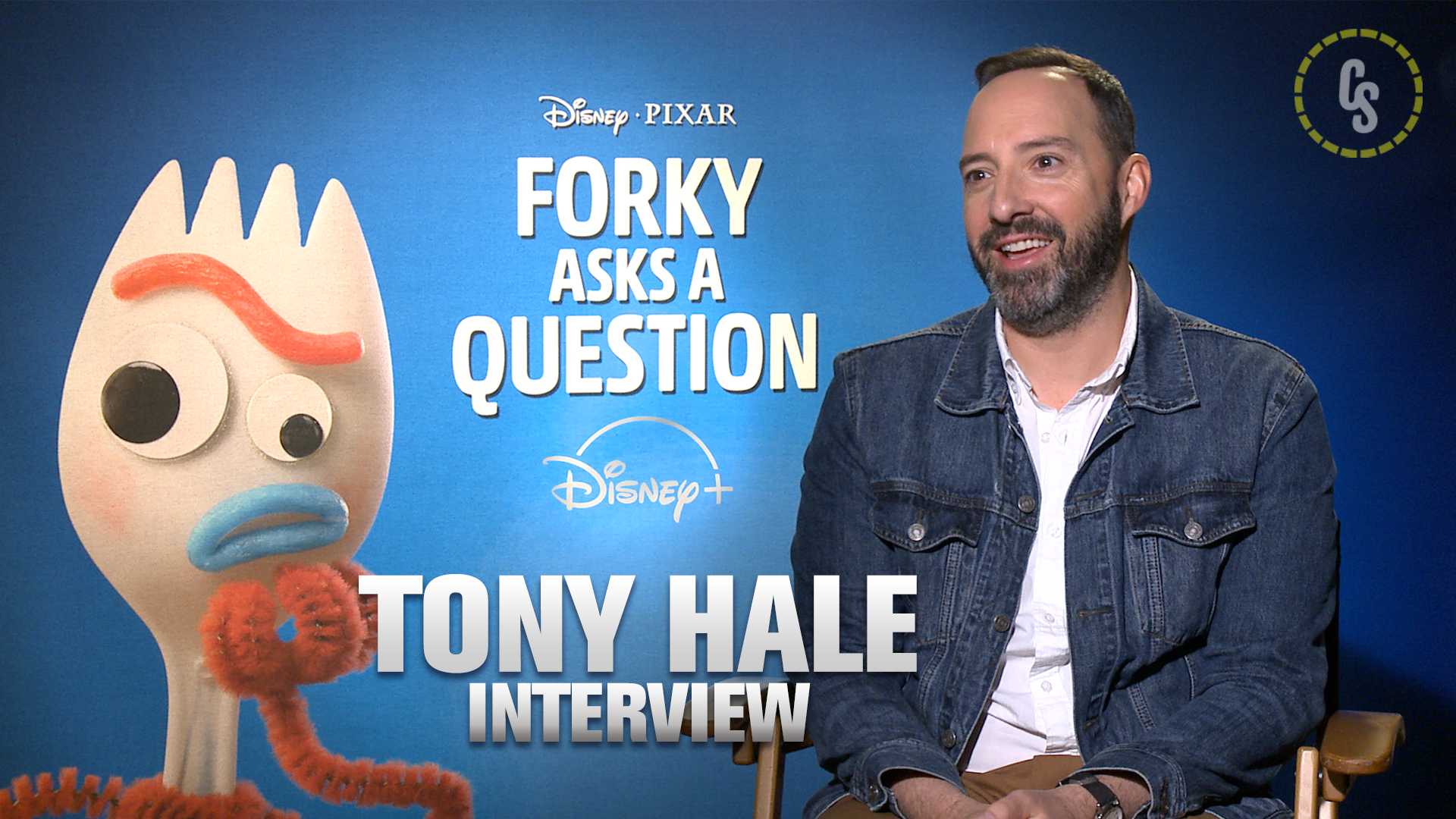 CS Video: Tony Hale on Disney+'s Forky Asks a Question