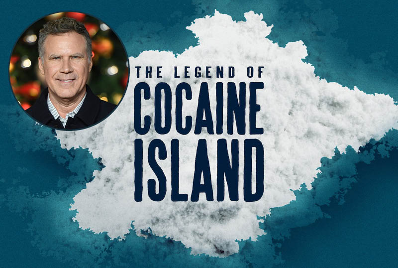 Netflix Remaking Documentary The Legend of Cocaine Island with Will Ferrell