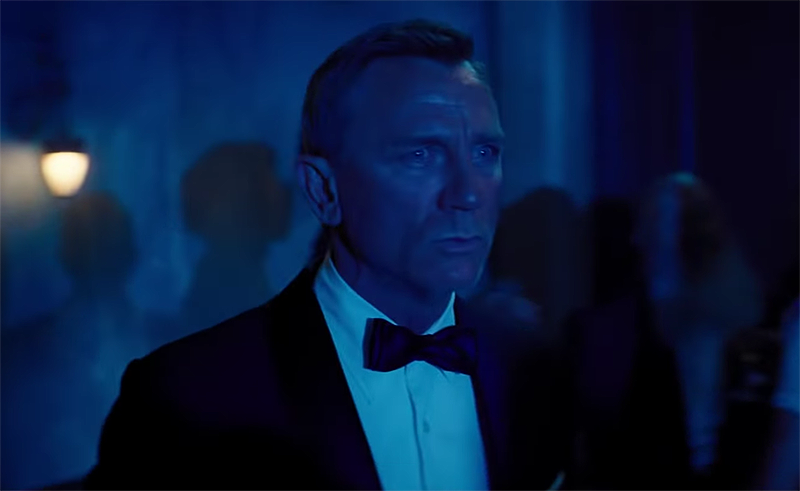 Daniel Craig Is Back As James Bond In No Time To Die