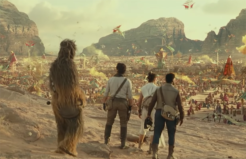 Star Wars Friendships Explored in Rise of Skywalker Featurette