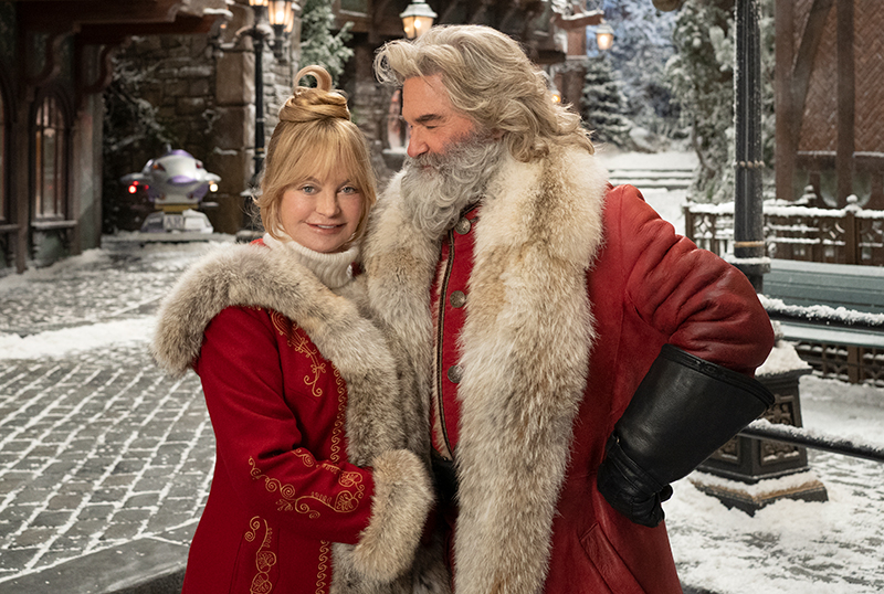 First Look at Kurt Russell & Goldie Hawn in The Christmas Chronicles 2