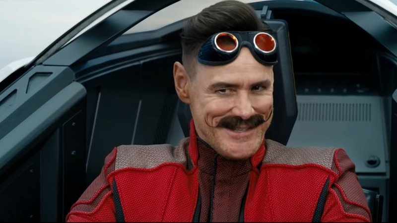 New Sonic the Hedgehog Clip Features Jim Carrey's Dr. Robotnik