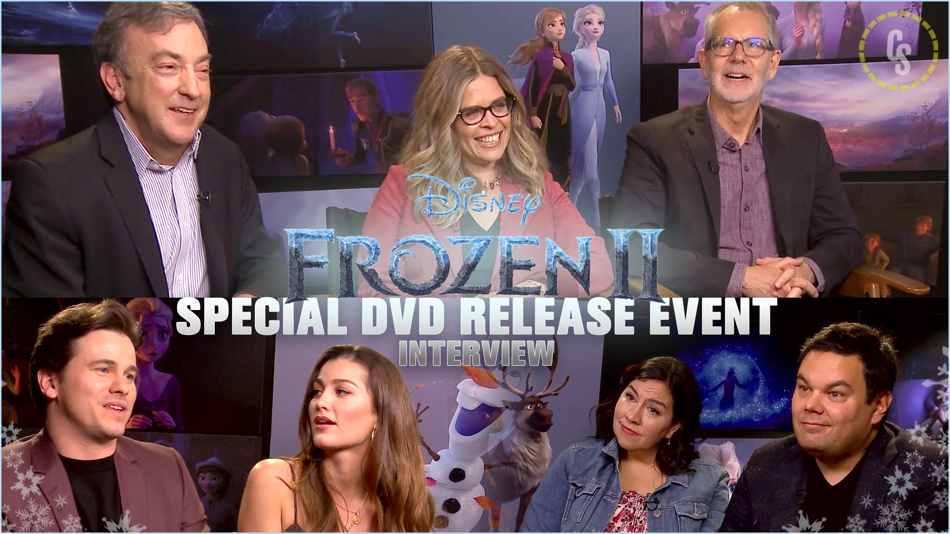 CS Video: The Cast & Crew of Frozen II!