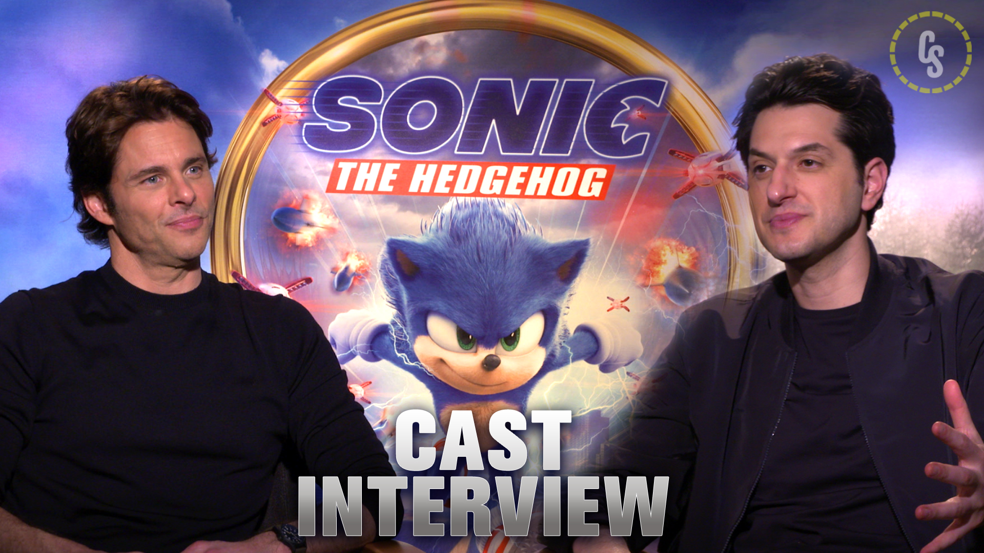 CS Video: James Marsden & Ben Schwartz Talk Sonic the Hedgehog