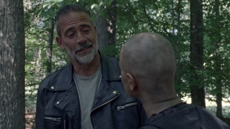 Negan Advises Alpha in The Walking Dead Episode 10.09 Sneak Peek