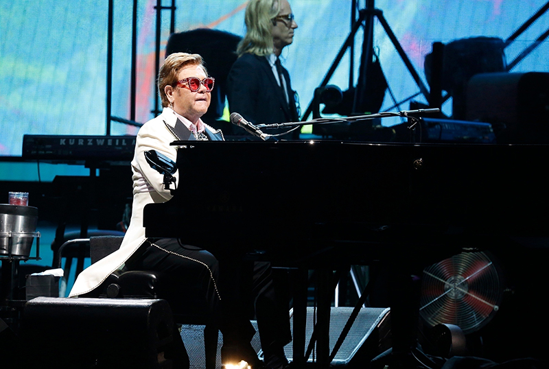 Elton John To Host Coronavirus Relief Effort Special With Guest Artists