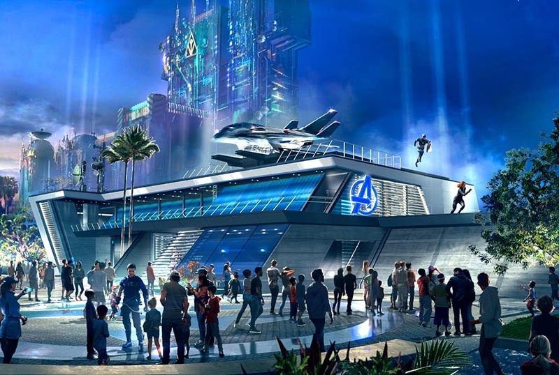 Disneyland California Announces Avengers Campus Opening