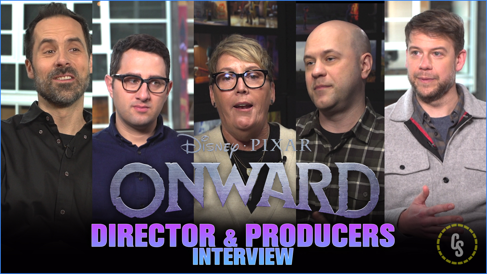 CS Video: Director Dan Scanlon & Producers Talk Onward