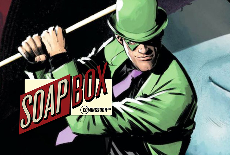 CS Soapbox: The Batman's Riddler Needs To Be The Movie's Main Antagonist