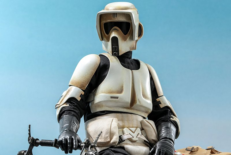 Hot Toys Reveals Scout Trooper Figures from The Mandalorian!
