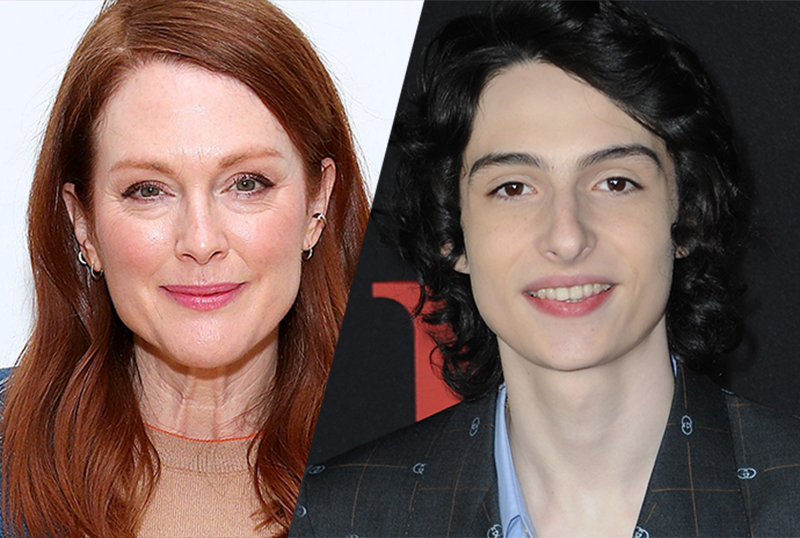 Julianne Moore, Finn Wolfhard to Star in When You Finish Saving the World
