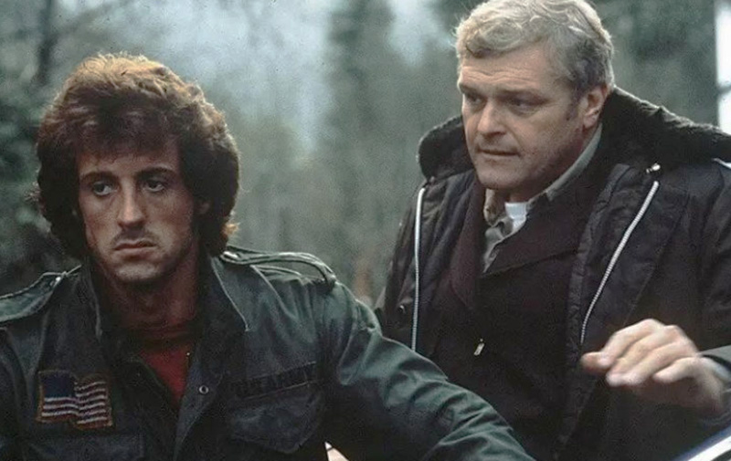 Sylvester Stallone Pays Tribute to First Blood Co-Star Brian Dennehy