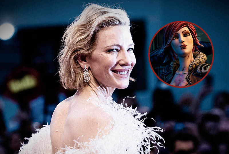 Cate Blanchett in Talks To Portray Lilith in Borderlands!