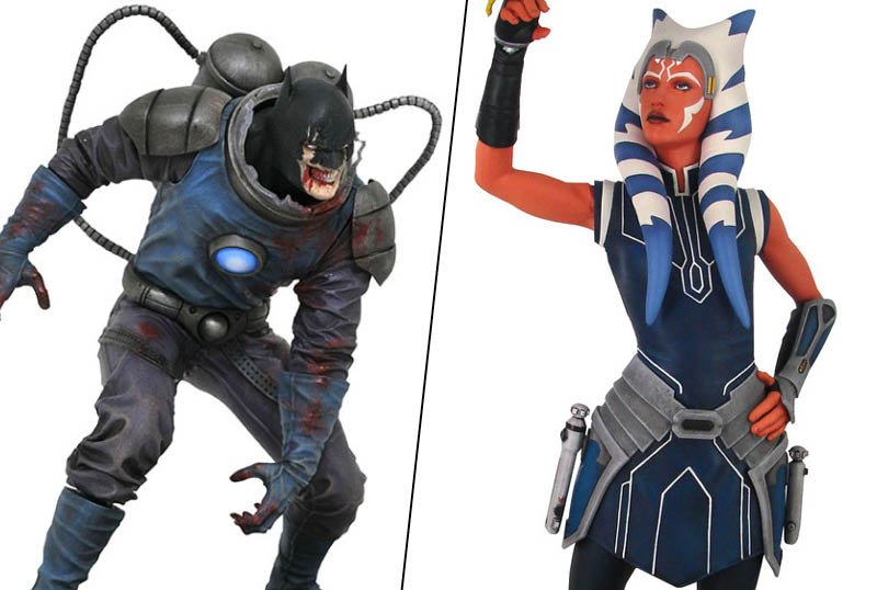 Diamond Select Toys Unveils Winter Releases Including DCeased & Clone Wars!