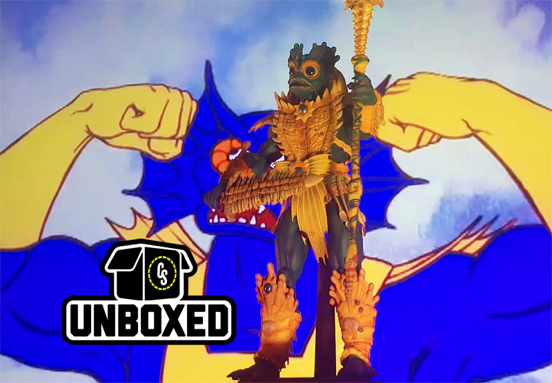 CS Unboxed: Mondo MOTU Faker & Mer-Man Figures