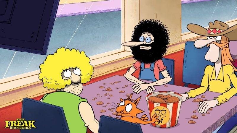 The Freak Brothers: Woody Harrelson, Tiffany Haddish & More Join New Adult Animated Series
