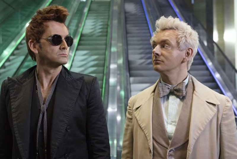 Michael Sheen, David Tennant Reprise Characters in Good Omens: Lockdown