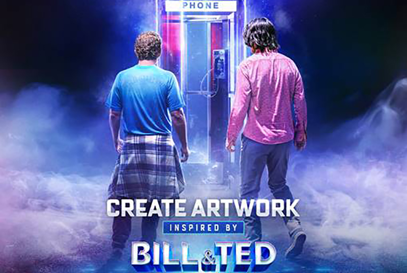 Talenthouse Announces Bill & Ted Face the Music Fan Art Contest