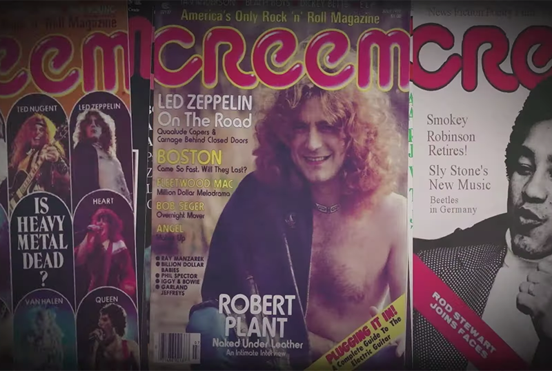 Greenwich Unveils Creem: America's Only Rock 'N' Roll Magazine Official Trailer