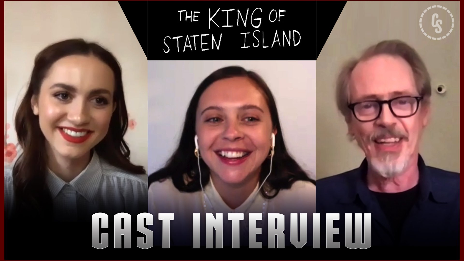 CS Video: Maude Apatow, Bel Powley & Steve Buscemi Talk King of Staten Island