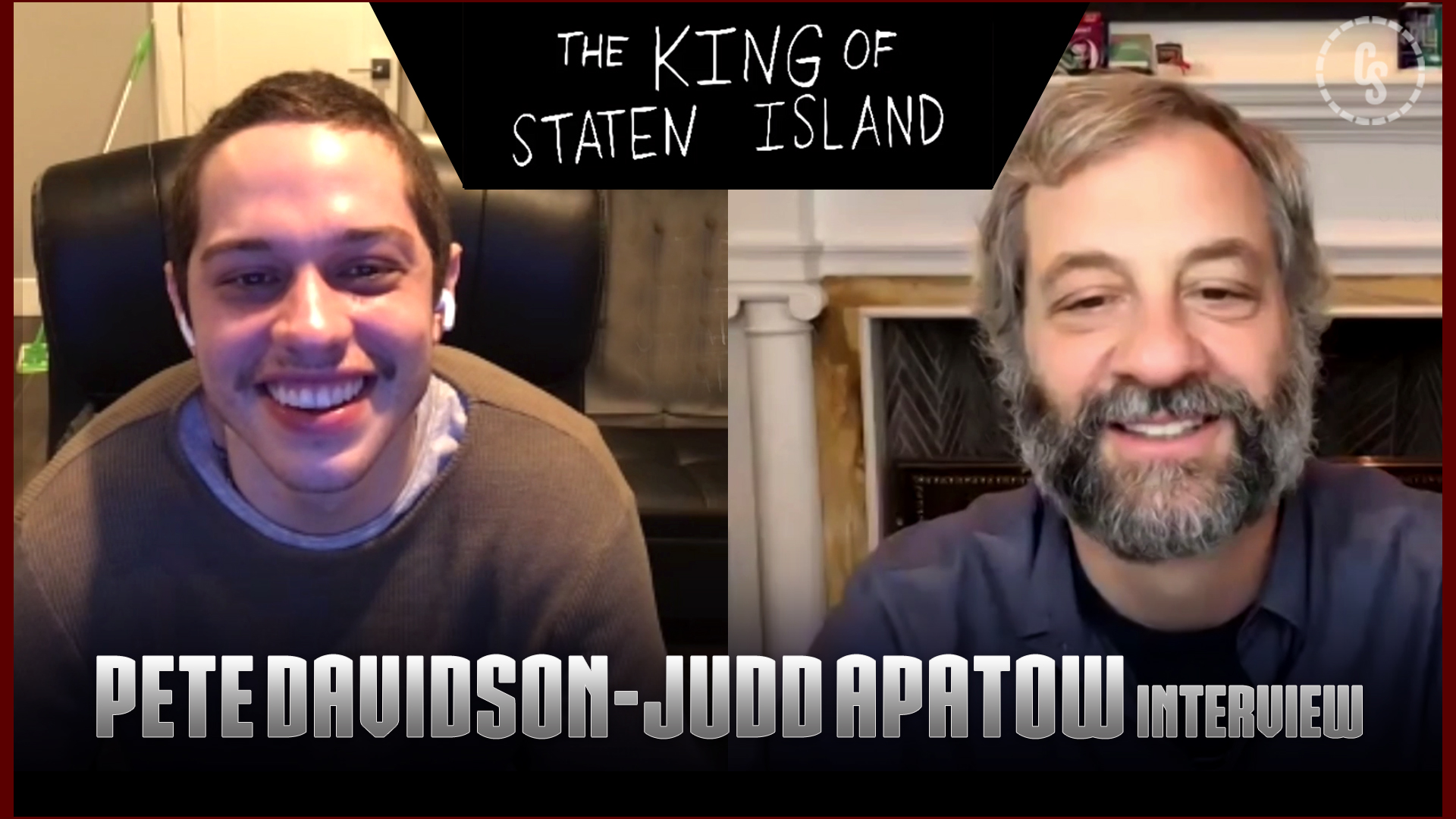 CS Video: The King of Staten Island Interviews With Pete Davidson & Judd Apatow
