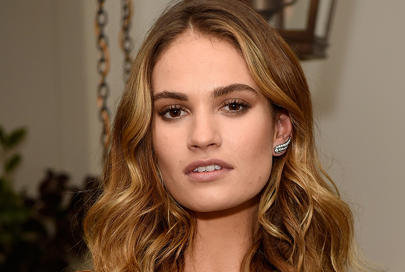 Peggy Jo: Lily James To Star in True-Crime Story from Phillip Noyce