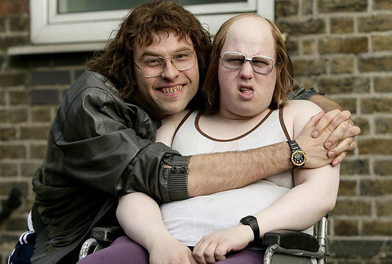 Little Britain pulled over blackface