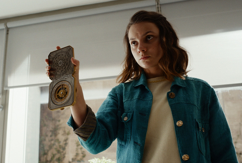 Lyra enters unusual  new worlds in His Dark Materials season two trailer