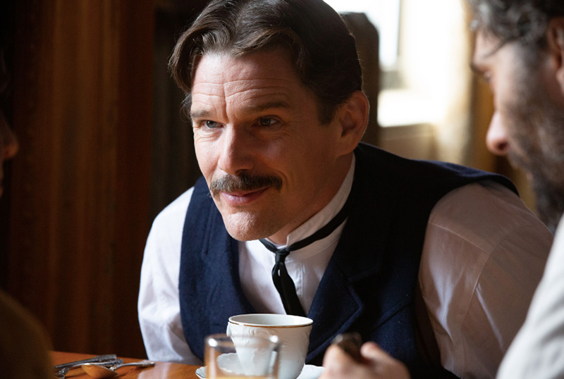 Ethan Hawke is electric in Tesla trailer