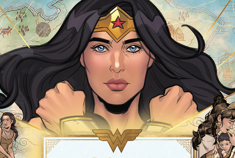 Exclusive Spreads for Wonder Woman: The Way of the Amazons
