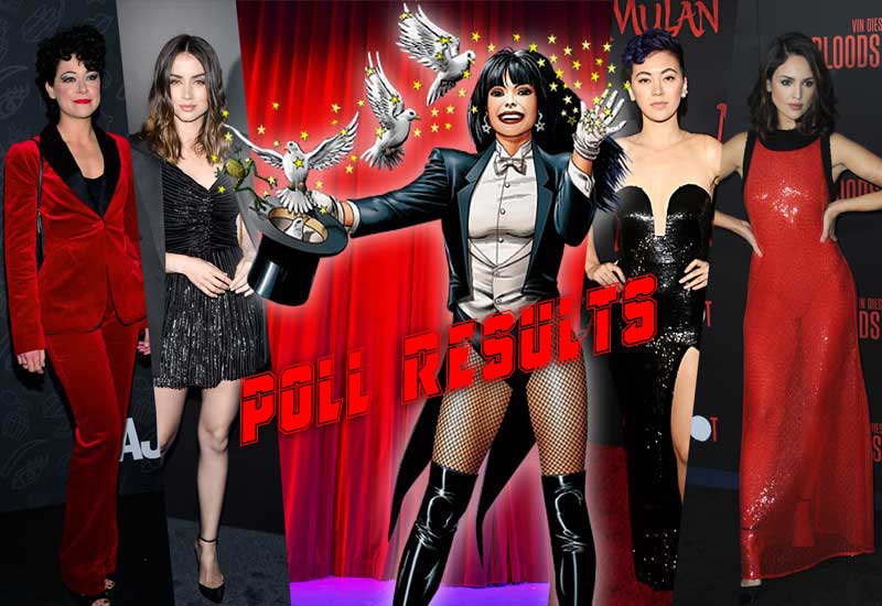 POLL RESULTS: Who Should Play Live-Action Zatanna?