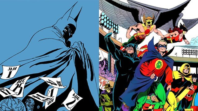 Batman: The Long Halloween and Justice Society Animated Films Coming In 2021