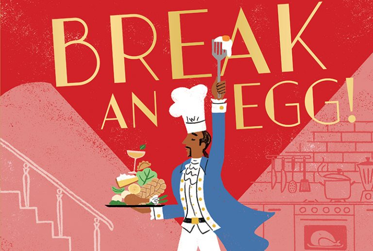 Exclusive Spreads for Break An Egg! The Broadway Cookbook