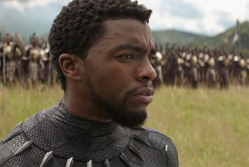 Marvel Pays Tribute to Chadwick Boseman & Black Panther in Behind-the-Scenes Video