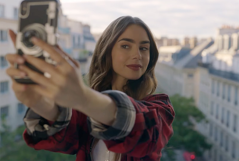 Lily Collins is 'Emily in Paris' in teaser for Netflix series — Netflix