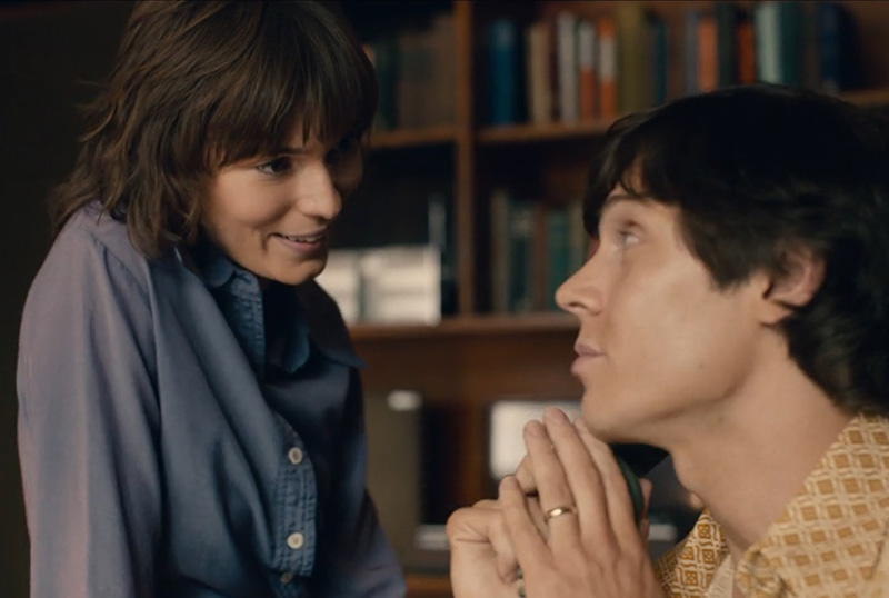 Exclusive I Am Woman Clip Featuring Tilda Cobham-Hervey & Evan Peters