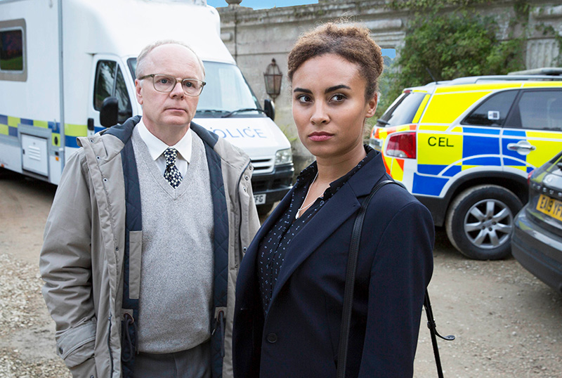 Exclusive McDonald & Dodds Clip From BritBox's Original Mystery Series