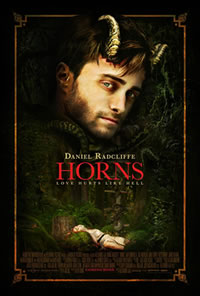Horns on DVD Blu-ray today