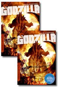 Godzilla (Criterion Collection) on DVD Blu-ray today